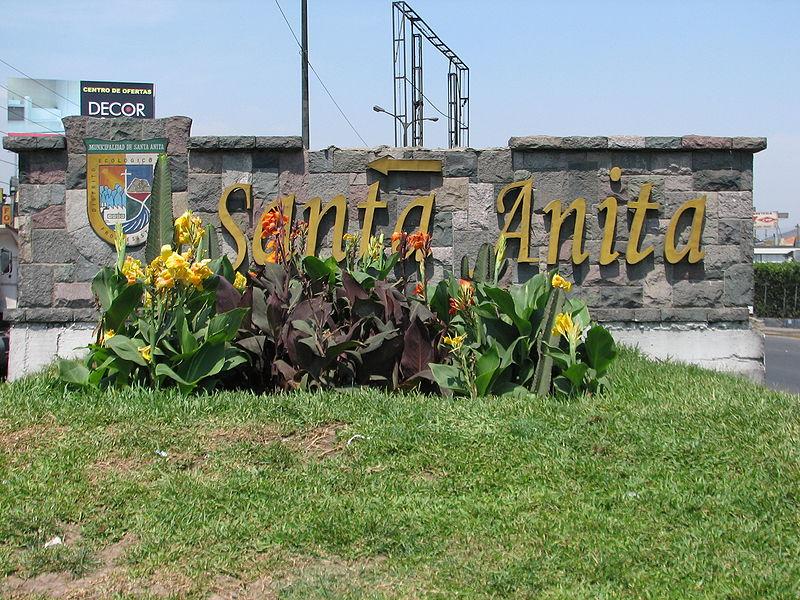 Código postal de Santa Anita Lima